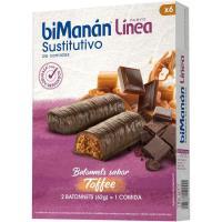 Batonnets Toffee BIMANANLINEA, caja 186 g