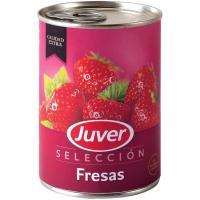 Fresas en almíbar JUVER, lata 150 g