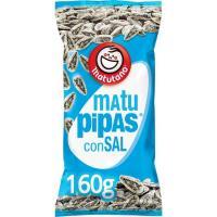 Pipas a la sal MATUTANO, bolsa 160 g