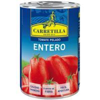 Tomate entero pelado CARRETILLA, lata 240 g