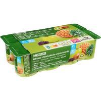 Biactive 0% con frutas EROSKI, pack 8x125 g