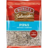 Pipas aguasal BORGES, bolsa 350 g