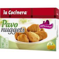 Nuggets de pavo LA COCINERA, caja 350 g