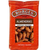 Almendras largueta con piel-sal BORGES, bolsa 180 g