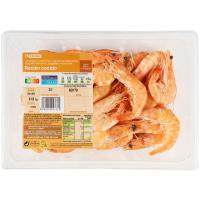 Langostino cocido 60-70 EROSKI, bandeja 450 g