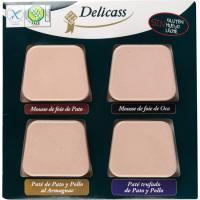 Paté de oca-pato-trufado-armagnan DELICASS, blister 360 g