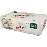 Cerveza SAN MIGUEL, pack 24x33 cl
