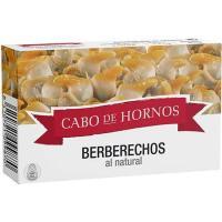 Berberecho pequeño CABO de HORNOS, lata 58 g
