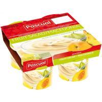 Yogur de macedonia PASCUAL, pack 4x125 g