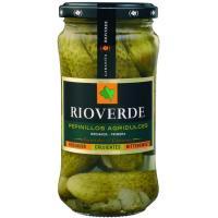 Pepinillos agridulce RIOVERDE, frasco 180 g