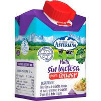 Nata sin lactosa ASTURIANA, botellín 200 ml