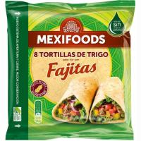 Tortilla Wrap para fajitas MEXIFOODS, paquete 320 g