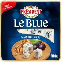 Queso azul D`auvergne Valmont PRESIDENT, tarrina 100 g
