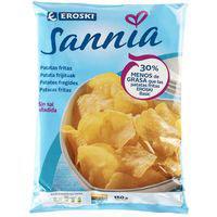 Patatas fritas menos grasa EROSKI Sannia, bolsa 150 g
