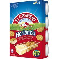 El Caserio merienda EL CASERIO, 4 unid., caja 184 g
