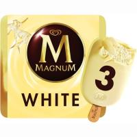 Bombón Blanco MAGNUM, pack 3x110 ml