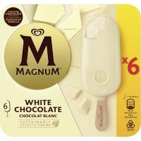Bombón blanco MAGNUM, pack 6x110 ml