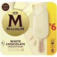 Bombón blanco MAGNUM, pack 6x110 ml
