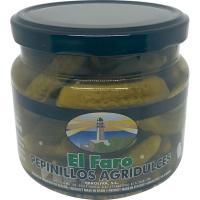 Pepinillos agridulces FARO, frasco 280 g