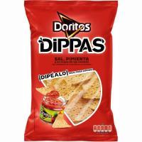 Dippas de maíz sal DORITOS, bolsa 150 g
