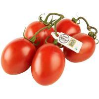 Tomate de pera en rama Eroski NATUR, al peso, compra mínima 500 g