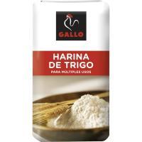 Harina de trigo extra GALLO, paquete 1 kg