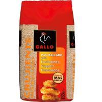 Pan rallado crujiente GALLO, paquete 500 g