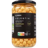 Garbanzo castellano cocido origen España
