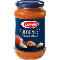 Salsa boloñesa formaggi BARILLA, frasco 400 g