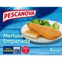 Filete de merluza empanado PESCANOVA, caja 340 g