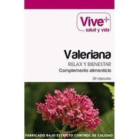 Valeriana VIVE+, caja 50 cápsulas