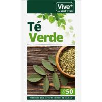 Té verde VIVE+, caja 50 cápsulas