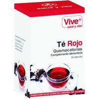 Té rojo VIVE+, caja 50 monodosis