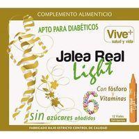 Jalea real light VIVE+, caja 12 viales