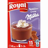 Natillas con Milka ROYAL, caja 150 g