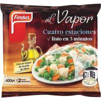 Verduras 4 estaciones al vapor FINDUS, bolsa 400 g
