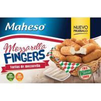 Fingers de mozarella MAHESO, caja 240 g