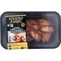 Alitas de pollo LA CARLOTEÑA, bandeja 300 g