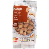 Anacardos tostados-salados EROSKI, bolsa 175 g