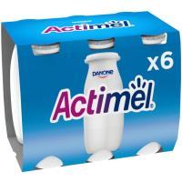 Actimel para beber natural DANONE, pack 6x100 ml