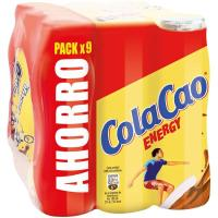 Batido de cacao COLA-CAO Energy, pack 9x200 ml