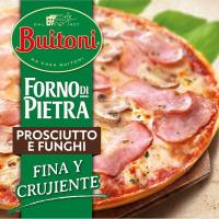 Pizza Forno di Pietra Prosciuto-Funghi BUITONI, caja 350 g