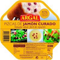 Pizcas de jamón curado ARGAL, bandeja 80 g