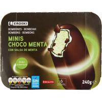 Minibombón doble cobertura chocolate y menta
