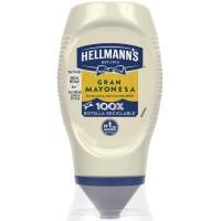 Mayonesa HELLMANNS, bocabajo 250 ml