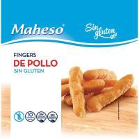Fingers de pollo sin gluten MAHESO, caja 300 g