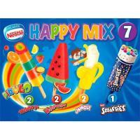 Surtido de helados Happy Mix NESTLÉ, pack 7x49 ml