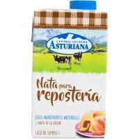 Nata para repostería ASTURIANA, brik 500 ml