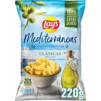 Patatas fritas con a. de oliva LAY`S Mediterráneas, bolsa 250 g