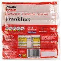 Salchichas Frankfurt EROSKI basic 160g